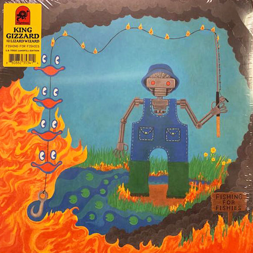 KING GIZZARD & THE LIZARD WIZARD 'Fishing For Fishies' LP