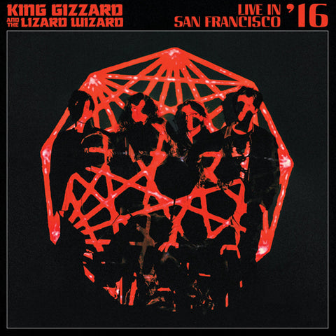 KING GIZZARD & THE LIZARD WIZARD 'Live In San Francisco - Eco Wax' 2LP