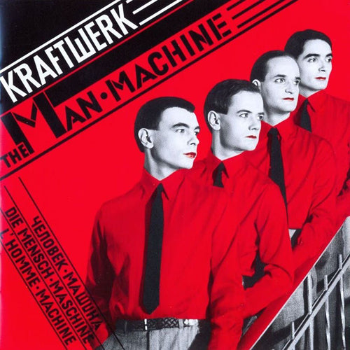 KRAFTWERK 'The Man Machine' LP