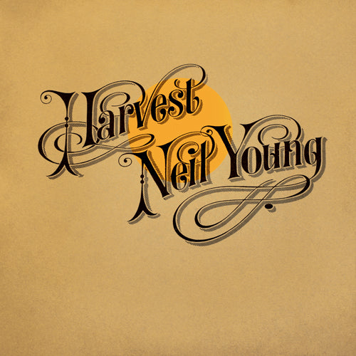 NEIL YOUNG 'Harvest' LP