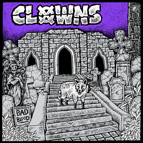 CLOWNS 'Bad Blood' CD