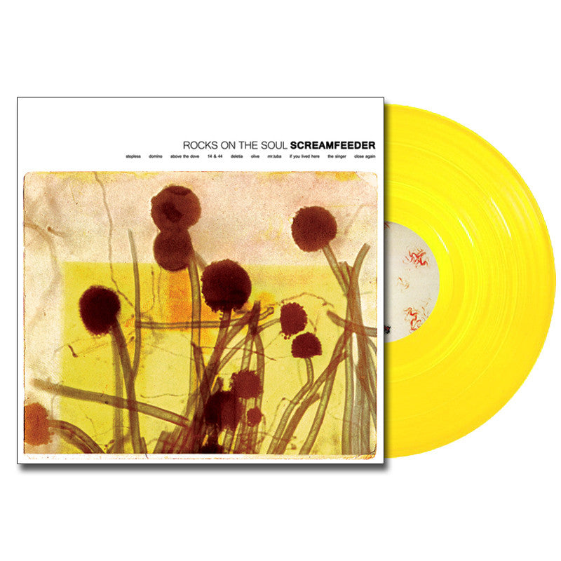 SCREAMFEEDER 'Rocks On The Soul' LP (Sunshine Yellow)
