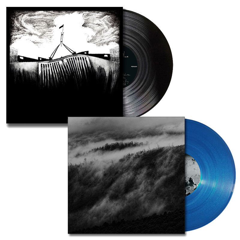 THE NATION BLUE 'Blue' & 'Black' LP Bundle