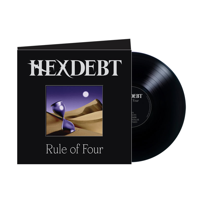 HEXDEBT 'Rule Of Four' LP (Black)