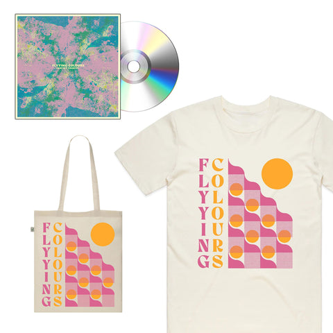 FLYYING COLOURS 'Fantasy Country' CD + T-Shirt + Tote Bag