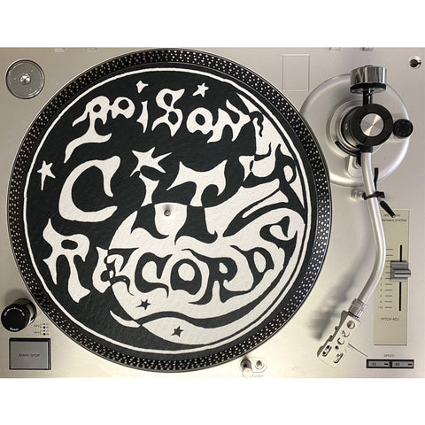 POISON CITY 'Record Player Slipmat'