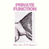 PRIVATE FUNCTION 'Who's Line Is It Anyway' LP