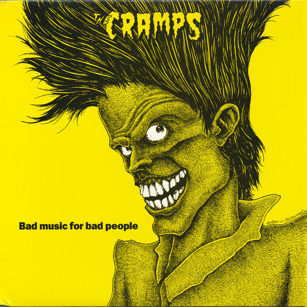 THE CRAMPS 'Bad Music For Bad People' LP