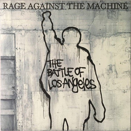 RAGE AGAINST THE MACHINE 'The Battle Of Los Angeles' LP