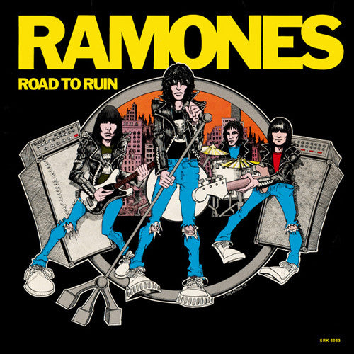 RAMONES 'Road To Ruin' LP
