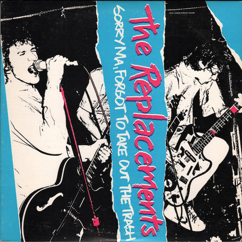 THE REPLACEMENTS 'Sorry Ma, Forgot....' LP