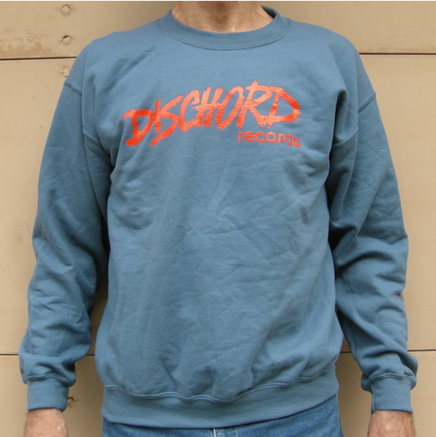 DISCHORD RECORDS 'Old Logo' Crew Jumper (Indigo)