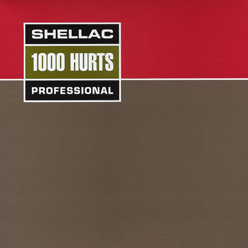 SHELLAC '1000 Hurts' LP