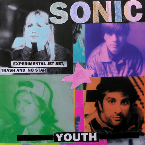 SONIC YOUTH 'Experimental Jet Set.....' LP