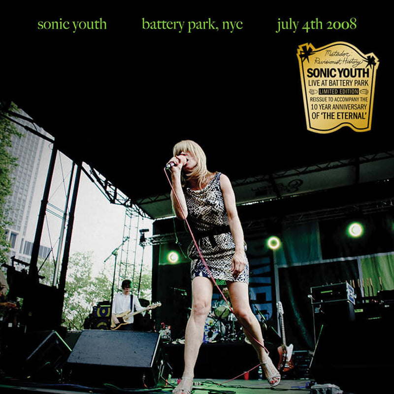 SONIC YOUTH 'Battery Park, NYC: July 4, 2008' LP