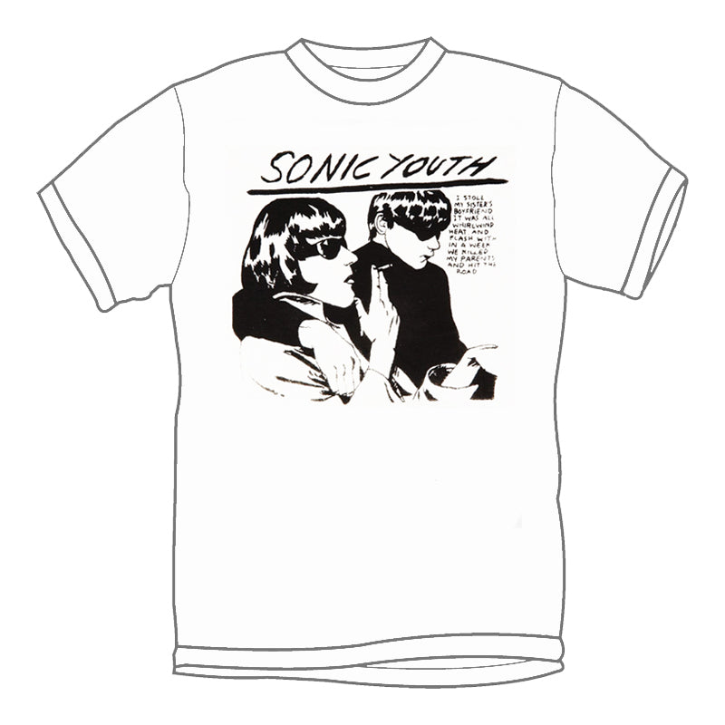 SONIC YOUTH 'Goo' T-Shirt (White)