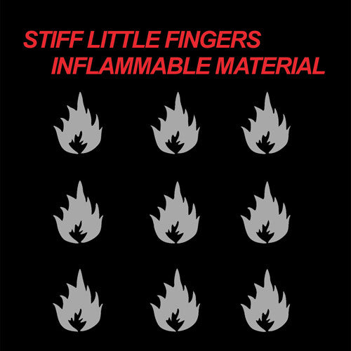 STIFF LITTLE FINGERS 'Inflammable Material' LP
