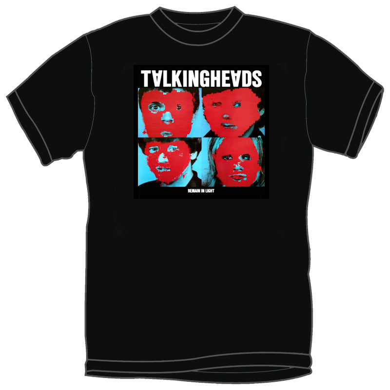 TALKING HEADS 'Remain In Light' T-Shirt (Black)