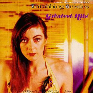 THROBBING GRISTLE 'Greatest Hits' LP