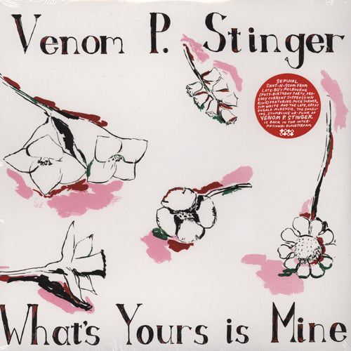 VENOM P STINGER 'What's Yours Is Mine' LP