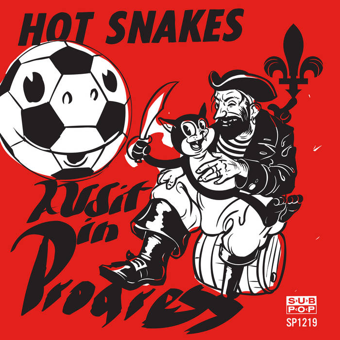 HOT SNAKES 'Audit In Progress' LP