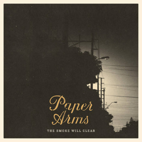PAPER ARMS 'The Smoke Will Clear' CD