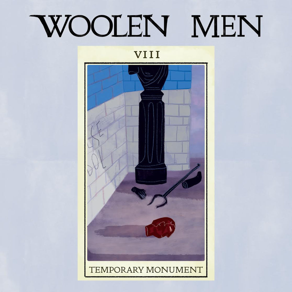 WOOLEN MEN 'Temporary Monument' LP