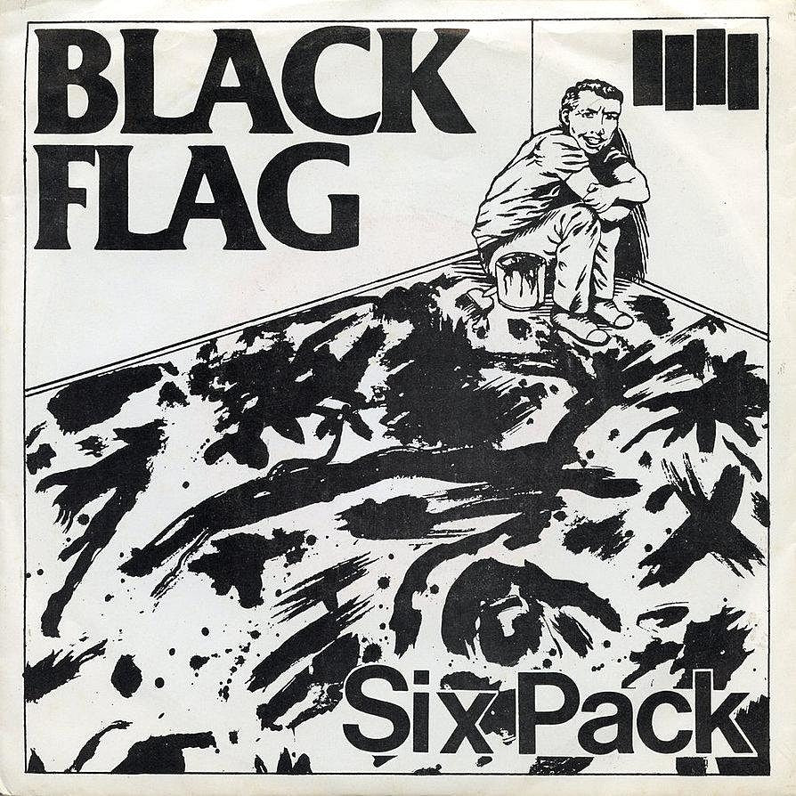 "BLACK FLAG 'Six Pack' 10"" LP"