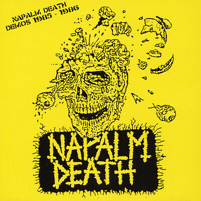 NAPALM DEATH 'Demos 1985-1986' LP