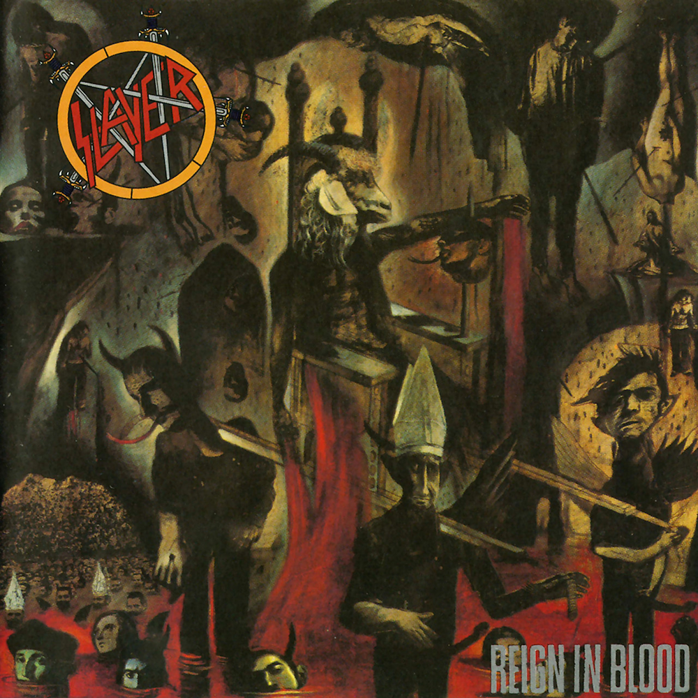 SLAYER 'Reign In Blood' LP