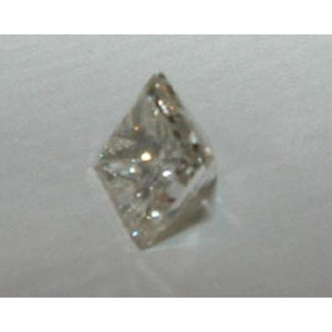 0.25 Carats F VVS1 Loose Princess Cut Diamond Diamond