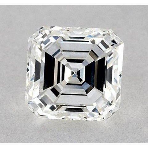 0.50 Carats Asscher Diamond Loose D VS1 Very Good Cut Diamond