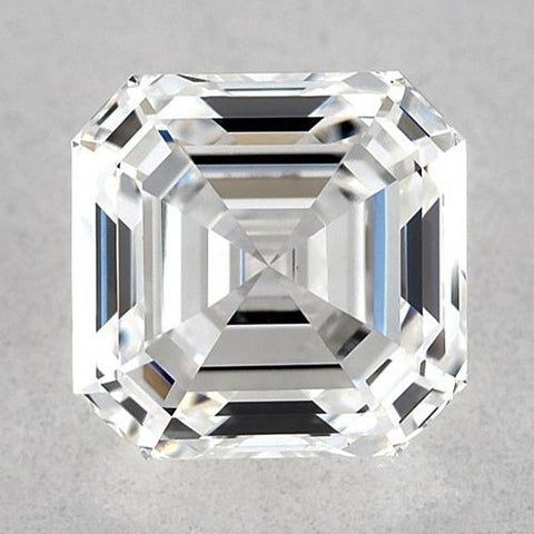 0.50 Carats Asscher Diamond Loose D VVS1 Very Good Cut Diamond