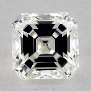 0.50 Carats Asscher Diamond Loose D VVS2 Very Good Cut Diamond
