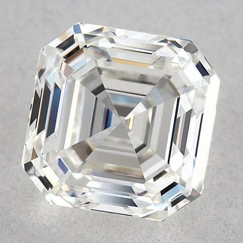 0.50 Carats Asscher Diamond Loose E Fl Very Good Cut Diamond