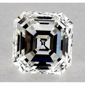 0.50 Carats Asscher Diamond Loose E VS1 Very Good Cut Diamond