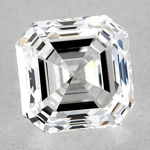 0.50 Carats Asscher Diamond Loose E VVS1 Very Good Cut Diamond