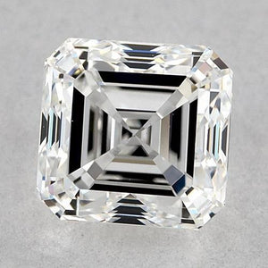 0.50 Carats Asscher Diamond Loose E VVS2 Very Good Cut Diamond