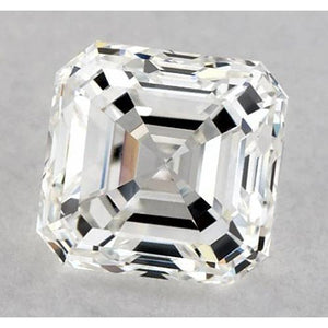 0.50 Carats Asscher Diamond Loose F VS1 Very Good Cut Diamond