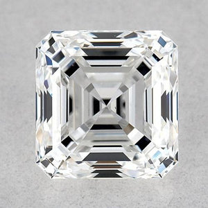 0.50 Carats Asscher Diamond Loose F VVS1 Very Good Cut Diamond