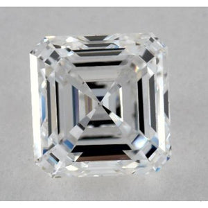 0.50 Carats Asscher Diamond Loose F VVS2 Very Good Cut Diamond