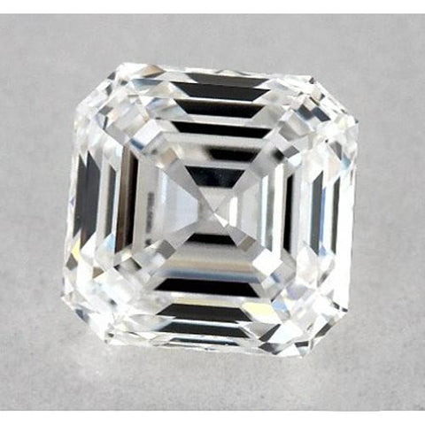 0.50 Carats Asscher Diamond Loose G VS1 Very Good Cut Diamond