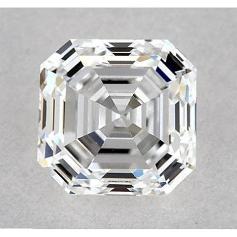 0.50 Carats Asscher Diamond Loose G VS2 Good Cut Diamond