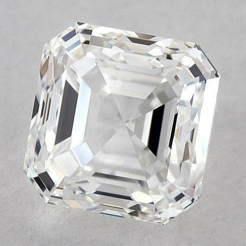 0.50 Carats Asscher Diamond Loose G VVS1 Very Good Cut Diamond