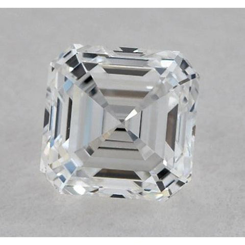 0.50 Carats Asscher Diamond Loose G VVS2 Very Good Cut Diamond