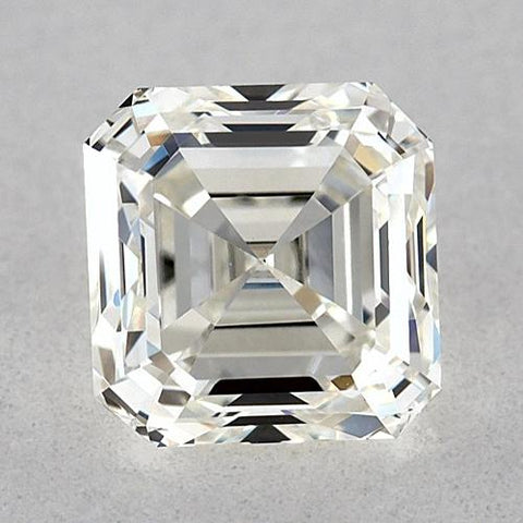 0.50 Carats Asscher Diamond Loose H Fl Very Good Cut Diamond