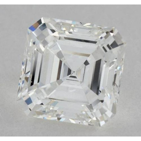 0.50 Carats Asscher Diamond Loose H VS1 Very Good Cut Diamond
