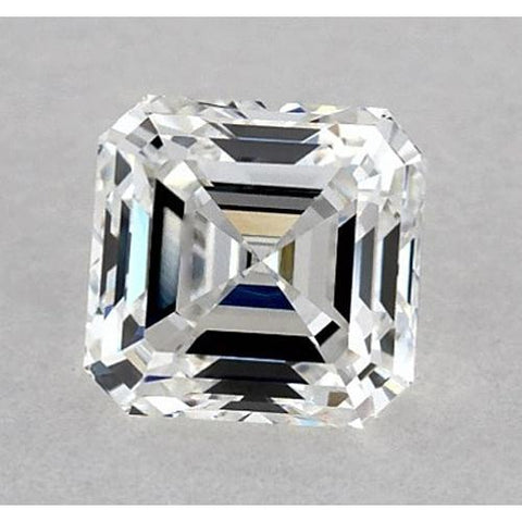 0.50 Carats Asscher Diamond Loose H VS2 Good Cut Diamond
