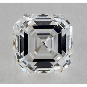 0.50 Carats Asscher Diamond Loose H VVS1 Very Good Cut Diamond