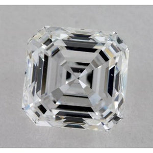 0.50 Carats Asscher Diamond Loose H VVS2 Very Good Cut Diamond